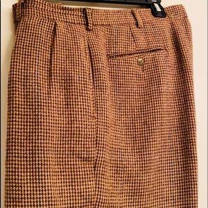 Polo RL tweed wool pants, lined.